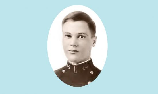 "Daniel Tomlinson remembered Lieutenant Commander William F. Halsey as ""a marvelous battalion officer while I was at the Academy—tough but absolutely square. Everyone loved Bull Halsey."""