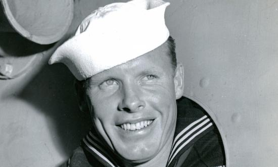 Portrait of Coast Guard Seaman First Class Howard R. Larsen