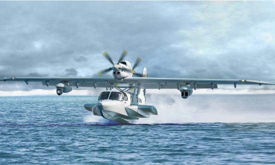 The Seastar is a commercial amphibious aircraft from German manufacturer Dornier Seawings. An aircraft with capabilities similar to Dornier's multimission Seastar Orca variant, shown here, could be a good fit for a range of U.S. maritime missions in the Indo-Pacific.