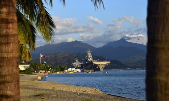 USS Wasp (LHD-1) makes a port visit to Subic Bay, Republic of the Philippines