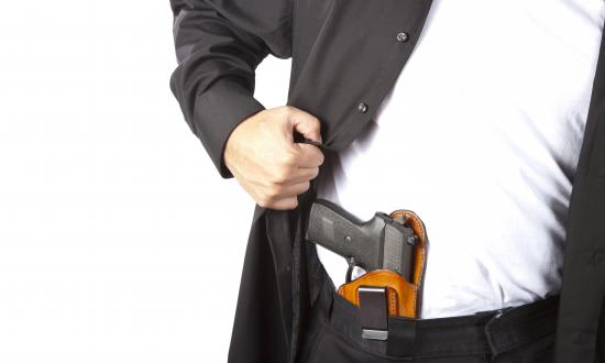 Concealed-carry pistol