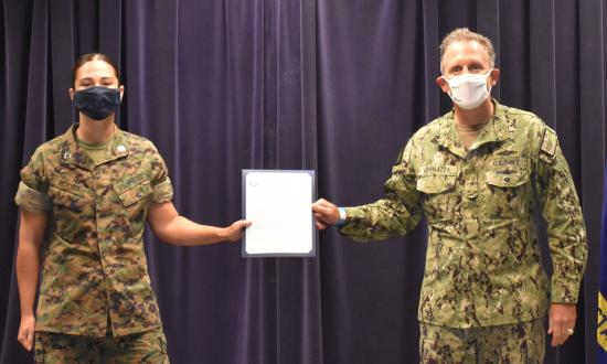 Information Warfare WTI Graduation