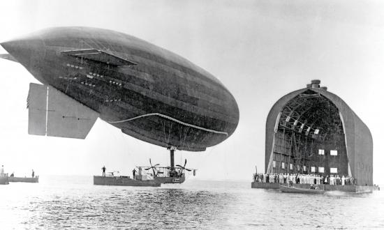 The Navy's first airship—the DN-1