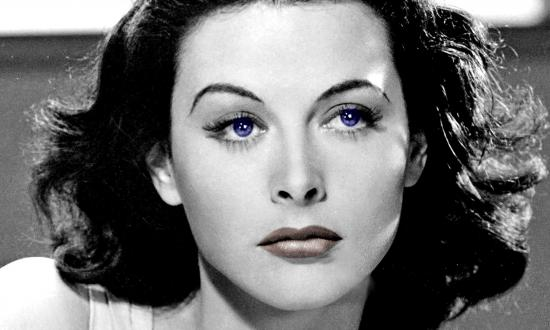Colorized Portrait of Hedy Lamarr