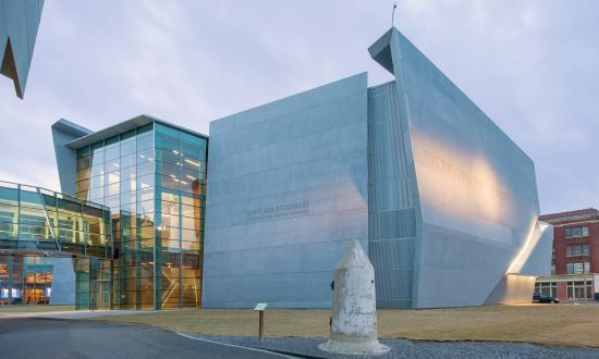 Exterior view of the National WWII Museum
