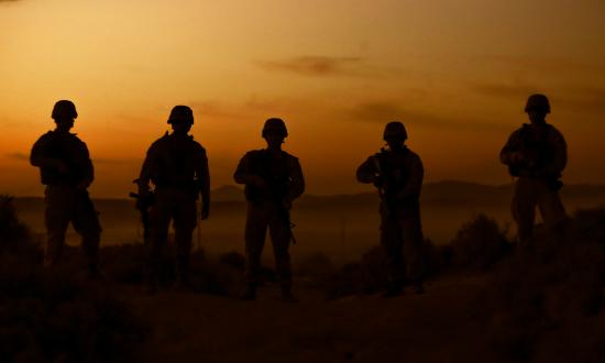 U.S. Marines participate in ITX 1-21 at Marine Air Ground Combat Center, Twentynine Palms, California, in October 2020.