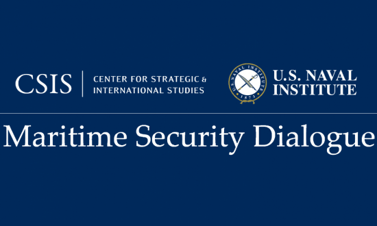 Maritime Security Dialogue Event