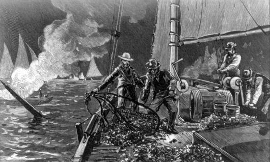 Even a Navy man wasn't off-limits to roving press-gangs during the lawless years of the Oyster Wars on Chesapeake Bay.