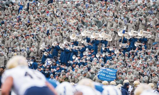 2018 Navy-Air Force football game