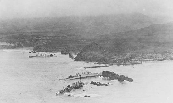 Destroyers at Honda Point 1923