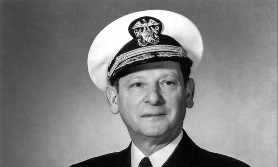 Portrait of Admiral Horacio Rivero Jr., USN