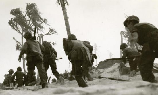 Marines on Betio