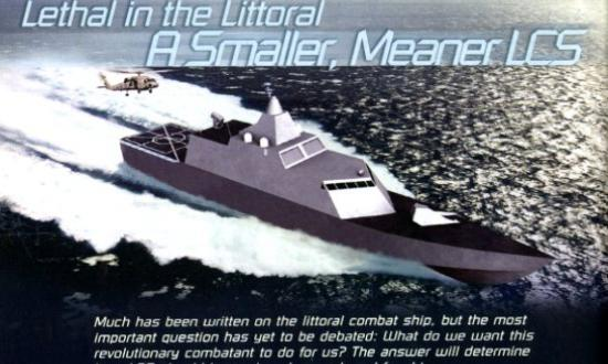 LOCKHEED MARTIN NAVAL ELECTRONICS AND SURVEILLANCE SYSTEMS LCS CONCEPT
