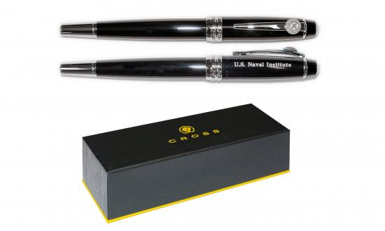 U.S. Naval Institute Member Pens with Box