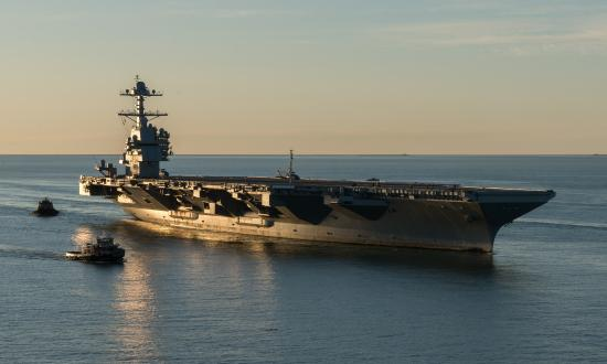 The newest U.S. aircraft carrier