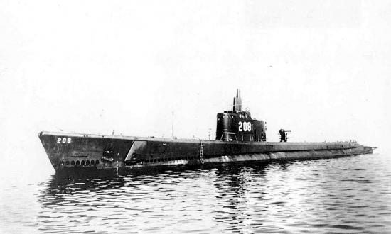 the USS Grayback (SS-208)