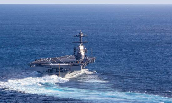 Someday, the U.S. Navy will leave the air craft carrier in its wake, though this change will be a tremendous challenge.