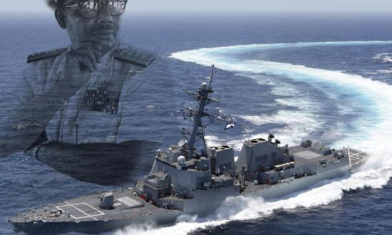 Courtesy of Alma Gravely; Northrup Grumman Shipbuilding