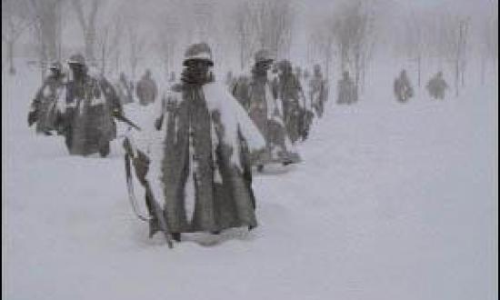 KOREAN WAR MEMORIAL/JOHN ALLI